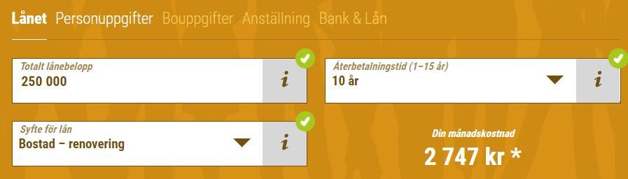 lånföralla låna pengar
