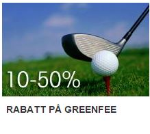 more golf rabatt på greenfee