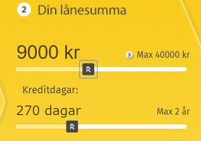 mobillån lånekostnad