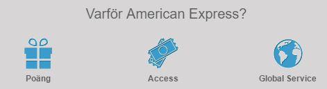 american express fördelar