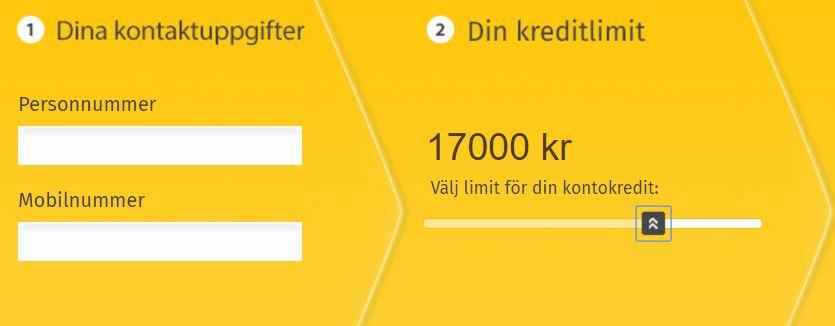 mobillån kontokredit låna