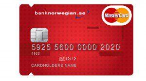 bank norwegian kreditkort storruta