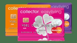 collector easyliving kortet
