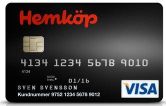 hemköp kreditkort