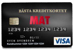 Kreditkort_mat