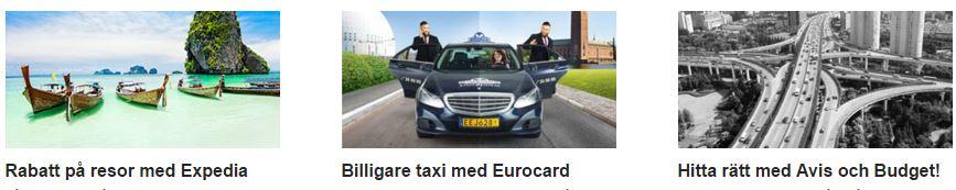 eurocard gold rabatter