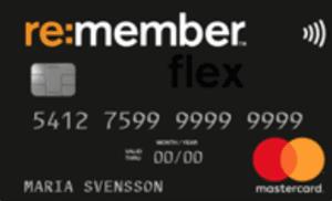Bästa matkreditkortet Re:member Flex